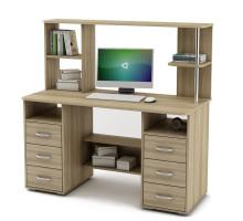 Письменный стол с надстройкой Forest15