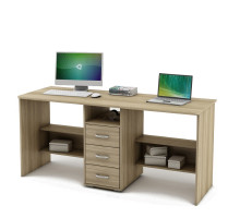 Письменный стол для двоих Forest8