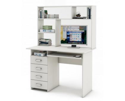 Письменный стол Лайт-4К с надстройкой