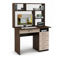 Письменный стол  Lait5Y с надстройкой