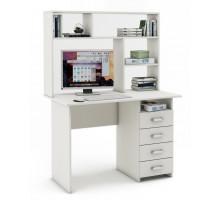 Письменный стол  Lait5 с надстройкой