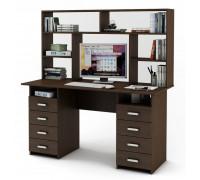 Письменный стол Лайт-9 с надстройкой