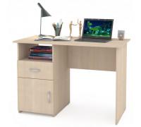 Стол компьютерный Комфорт 11 СК, цвет дуб паллада, ШхГхВ 110х57х76 см., универсальная сборка