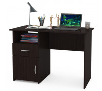 Стол компьютерный Комфорт 11 СК, цвет венге магия, ШхГхВ 110х57х76 см., универсальная сборка