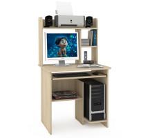 Стол компьютерный Комфорт 3 СК, цвет дуб сонома, ШхГхВ 80х63х139 см., НЕ универсальная сборка