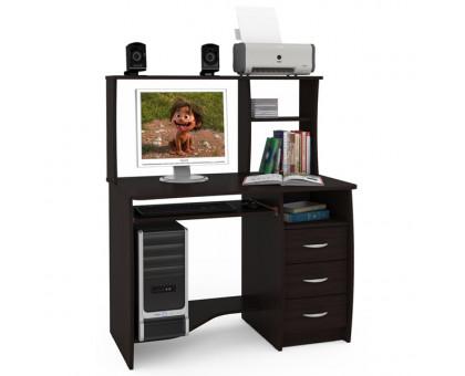 Стол компьютерный Комфорт 4 СК, цвет венге магия, ШхГхВ 105х65х125 см., НЕ универсальная сборка
