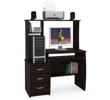 Стол компьютерный Комфорт 5 СК, цвет венге магия, ШхГхВ 105х57х132 см., НЕ универсальная сборка
