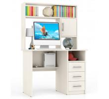 Стол компьютерный С-МД-СК9, цвет дуб, ШхГхВ 102х70х160 см., ниша под монитор 65х70х57 см., НЕ универсальная сборка