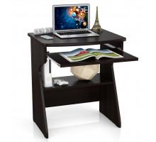 Стол компьютерный С-МД-СК1, цвет венге, ШхГхВ 67х55х75 см., столешница из МДФ
