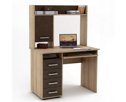 Письменный стол с надстройкой Ostin12