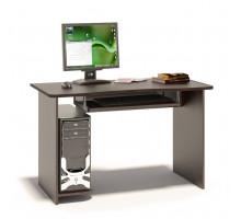 Стол компьютерный Сокол КСТ-04(КСТ-04.1), цвет дуб венге, ШхГхВ 120х60х74 см., универсальная сборка