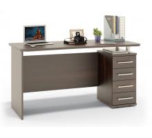 Стол компьютерный Сокол КСТ-105-1, цвет дуб венге, ШхГхВ 140х60х75 см., универсальная сборка