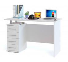 Стол компьютерный Сокол КСТ-106-1, цвет белый, ШхГхВ 120х60х75 см.