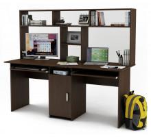 Письменный стол Лайт-10К с надстройкой