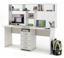 Письменный стол Лайт-11 с надстройкой